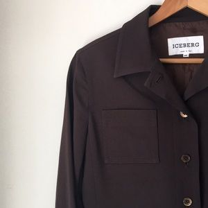 Iceberg Made In Italy Brown Jacket